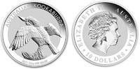 10 Dollar 2011 Australia Kookaburra 10 Ounces Silver Unc in Capsule  239,50 EUR  zzgl. 10,00 EUR Versand