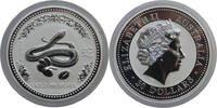 Australia 30 Dollar Lunar I Year of the Snake <i>Very Rare</i>