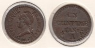 1 Centime L'AN 7 A France 1 Centime L'AN 7 A Almost Extremely Fine  65,00 EUR  zzgl. 10,00 EUR Versand