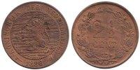 2½ Cent 1886 Netherlands Willem III 1849-1890 Fdc -  89,50 EUR  zzgl. 10,00 EUR Versand