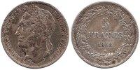 5 Francs 1848 Belgium Leopold I 1831 - 1865 Very Fine  75,00 EUR  zzgl. 10,00 EUR Versand