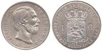 Netherlands 1 Gulden 1854 Very Fine / Extr...