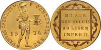 "Netherlands Gold Ducat Juliana 1948 - 1980 ""Medal Strike Very Rare"""
