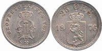 25 Öre 1876 Norway Oscar II 1872 - 1905 Extremely Fine / Unc  100,00 EUR  zzgl. 10,00 EUR Versand