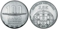 Portugal 2½ Euro 100th Anniversary of the First Portuguese Submarine - Espadarte