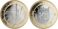 5 Euro 2011 Finland Provincial Coin - Savonia Unc  9,95 EUR  +  10,00 EUR shipping