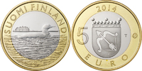 5 Euro 2014 Finland Animals of the Provinces – Savonia Unc  8,95 EUR  +  10,00 EUR shipping