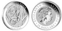 10 Dollar 2013 Australia Koala 10 Ounces Silver! Unc in Capsule  294,95 EUR  zzgl. 10,00 EUR Versand