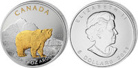 "Canada 5 Dollar Wildlife 2011 ""Grizzly"""