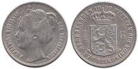 Netherlands ½ Guilder 1909 Very Fine Wilhelmina 1890 - 1948 39,95 EUR