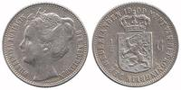 Netherlands ½ Guilder 1909 Very Fine / Extremely Fine Wilhelmina 1890 - ... 49,95 EUR