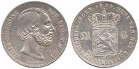 Netherlands 2½ Guilder 1858 Extremely Fine Willem III 1849 - 1890 124,50 EUR