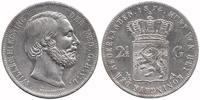 Netherlands 2½ Guilder Willem III 1849 - 1890