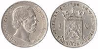 1 Guilder 1864 Netherlands Willem III 1849 - 1890 Extremely Fine  129,50 EUR  zzgl. 10,00 EUR Versand