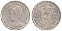 1 Guilder 1915 Netherlands Wilhelmina 1890 - 1948 Extremely Fine  69,50 EUR  zzgl. 10,00 EUR Versand