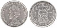 1 Guilder 1916 Netherlands Wilhelmina 1890 - 1948 Extremely Fine   124,50 EUR  zzgl. 10,00 EUR Versand