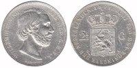 2½ Guilder 1871 Netherlands Willem III 1849 - 1890 Very Fine +  32,50 EUR  +  10,00 EUR shipping