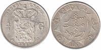 ¼ Guilder 1885 Netherlands Indië Willem III 1849 - 1890 Extremely Fine  69,50 EUR  zzgl. 10,00 EUR Versand