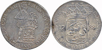 Silver Ducat 1788 Netherlands / Province Zeeland Knight with sword (rar... 244,50 EUR