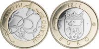 5 Euro 2011 Finland Tavastia Unc  9,95 EUR  +  10,00 EUR shipping