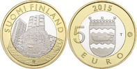 5 Euro 2015 Finland Animals of the Provinces – Uusimaa Unc  8,95 EUR