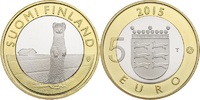 5 Euro 2015 Finland Animals of the Provinces – Ostrobothnia Unc  8,95 EUR  zzgl. 10,00 EUR Versand