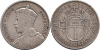 ½ Crown 1932 Southern Rhodesia George V 1910-1936 'Rare' Almost Very Fi... 100,00 EUR  +  10,00 EUR shipping