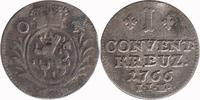Kreuzer 1766 IIE Nassau-Oranien  Almost Very Fine  25,00 EUR  +  10,00 EUR shipping