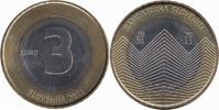3 Euro 2011 Slovenia 20th anniversary of the independence of Slovenia Unc  4,95 EUR  zzgl. 10,00 EUR Versand