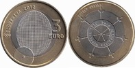 3 Euro 2012 Slovenia 100th anniversary of the first Olympic medal Unc  4,95 EUR  +  10,00 EUR shipping