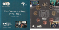3,88 Euro 2005 Netherlands World Money Fair Basel 2005 Bu in Original B... 58,60 EUR  zzgl. 10,00 EUR Versand