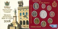 8,88 Euro 2006 San Marino Complete Euro Set   65,10 EUR  zzgl. 10,00 EUR Versand