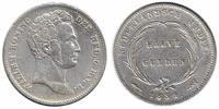 ½ Guilder 1834 Netherlands Indië Willem I 1815 - 1840 Very Fine +  99,50 EUR  zzgl. 10,00 EUR Versand