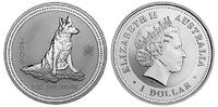 1 Dollar 2006 Australien / Australia Year of the Dog Stempelglanz  54,50 EUR  zzgl. 10,00 EUR Versand