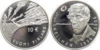 10 Euro 2006 Finnland 200 Geburtstag von Johan Vilhelm Snellman PP in E... 20,00 EUR  +  10,00 EUR shipping