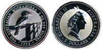 2 Dollar 1998 Australien Kookaburra 2 Ounces Silver Stempelglanz im Kap... 69,95 EUR  zzgl. 10,00 EUR Versand