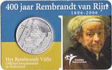 5 euro 2006 Niederlande 400 Geburtstag Rembrandt van Rijn Unc / Coincard  14,95 EUR  +  10,00 EUR shipping