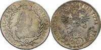 20 Kreuzer 1769 RDR Ungarn Nagybanya Joseph II., 1765-1790 justiert, ss  95,00 EUR