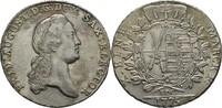 Taler 1775 Sachsen Friedrich August III./I., 1763-1827. vz/f. Stempelgl... 220,00 EUR kostenloser Versand