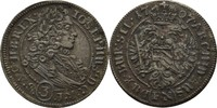 3 Kreuzer 1707 RDR Schlesien Breslau Joseph I., 1705-1711. ss+  50,00 EUR