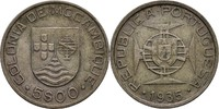 5 Escudo 1935 Portugal Mosambik  ss  20,00 EUR  zzgl. 3,00 EUR Versand