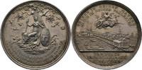 Silbermedaille 1803 Hamburg  kl. Kratzer, ss+  100,00 EUR