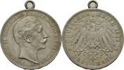 3 Mark 1911 Preussen Wilhelm II., 1888-1918. am Henkel, ss  11,50 EUR  zzgl. 3,00 EUR Versand