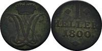 Heller 1800 Hessen Kassel Wilhelm IX., 1785-1803 f.ss  10,00 EUR  zzgl. 3,00 EUR Versand