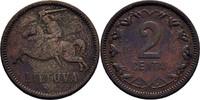 2 Centai 1936 Litauen  ss  7,00 EUR  zzgl. 3,00 EUR Versand
