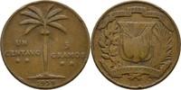 1 Centavo 1939 Dominikanische Republik  fast ss, Druckstelle  5,00 EUR  zzgl. 3,00 EUR Versand