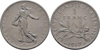 1 Franc 1917 Frankreich  ss  5,00 EUR  zzgl. 3,00 EUR Versand