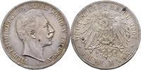 5 Mark 1907 Preussen Wilhelm II., 1888-1918. winzige Kratzer, vz  50,00 EUR  plus 3,00 EUR verzending