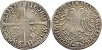 6 Kreuzer 1531 Brandenburg in Franken Schwabach Georg, 1527-1536 Gewell... 395,00 EUR kostenloser Versand