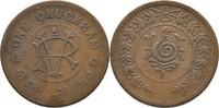 1 Chuckram 1906-35 Indien - Travancore Rama Varma VI., 1885-1924 ss Ran... 14,00 EUR  plus 3,00 EUR verzending